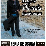 cartel rafa heredia feria